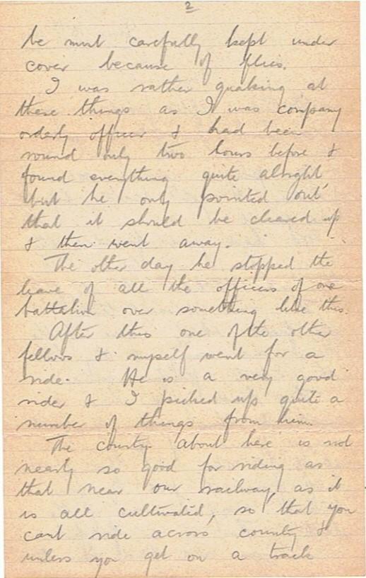 15th june 1917 cold bath ww1