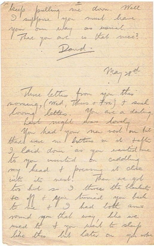 27th May 1917 Love letter – ww1-letters com